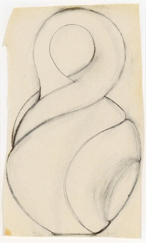 Untitled Drawing (Twist), 2000
