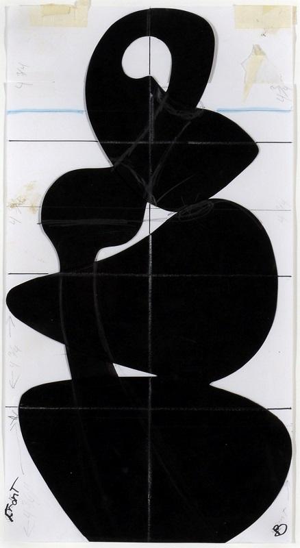 Untitled Drawing (Free Radical), 2012
