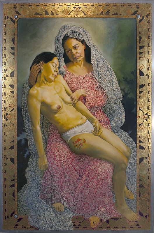 Kukuli Velarde, La Pieta, 2009