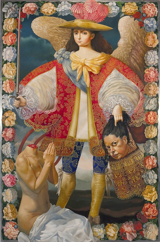Kukuli Velarde, Nak'aq Archangel, 2006