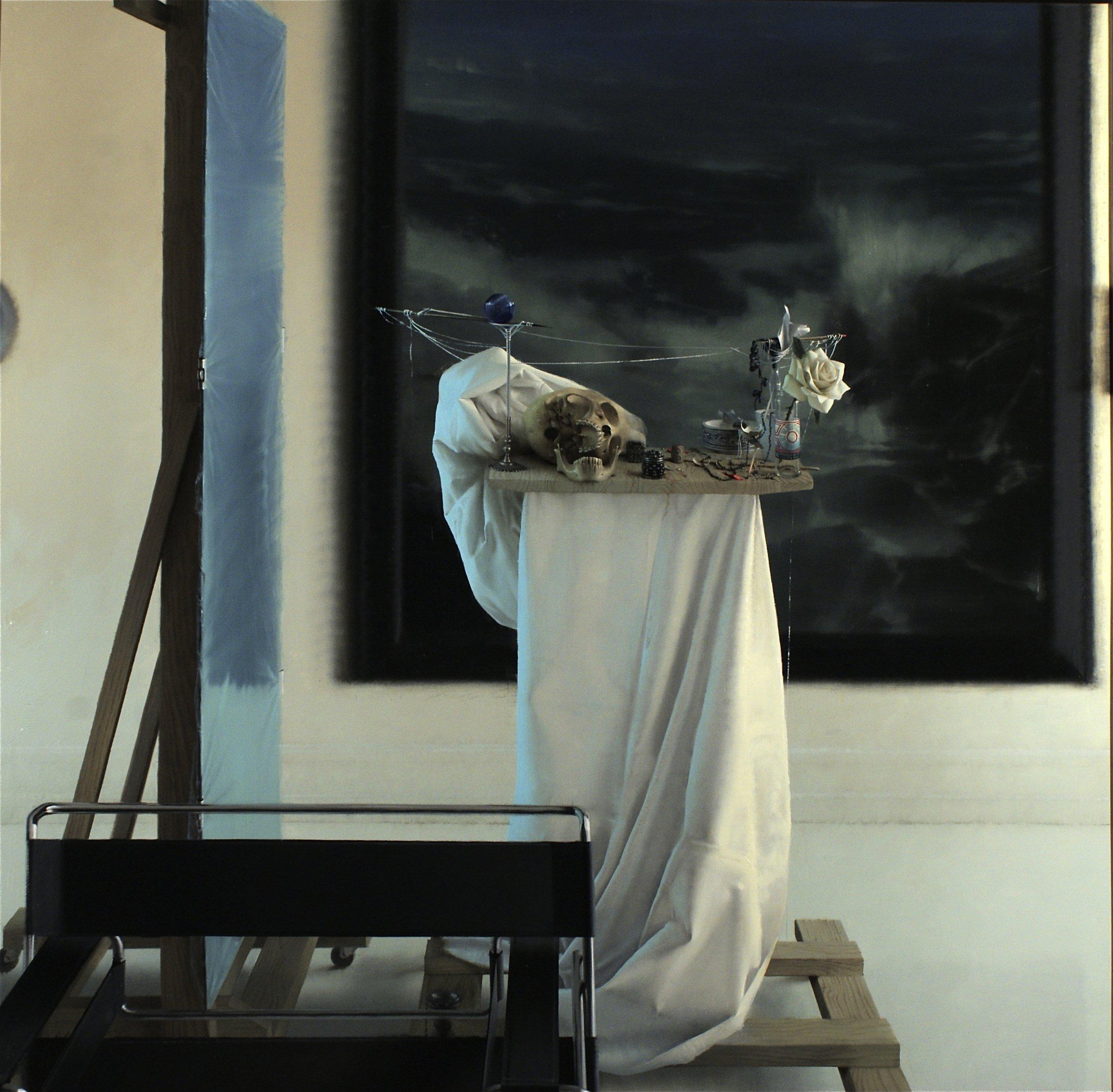 Daniel Sprick,  Through My Fingers, 2010