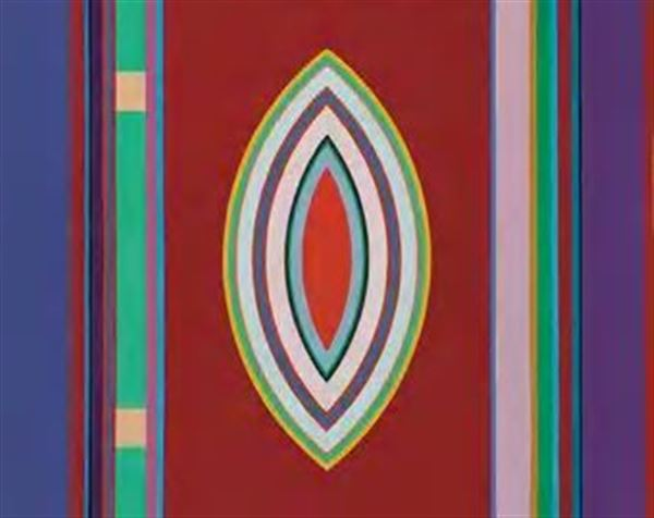 John Ferren,  Sidon No. 3 , 1965, oil on canvas, 40 ¼ x 50 inches