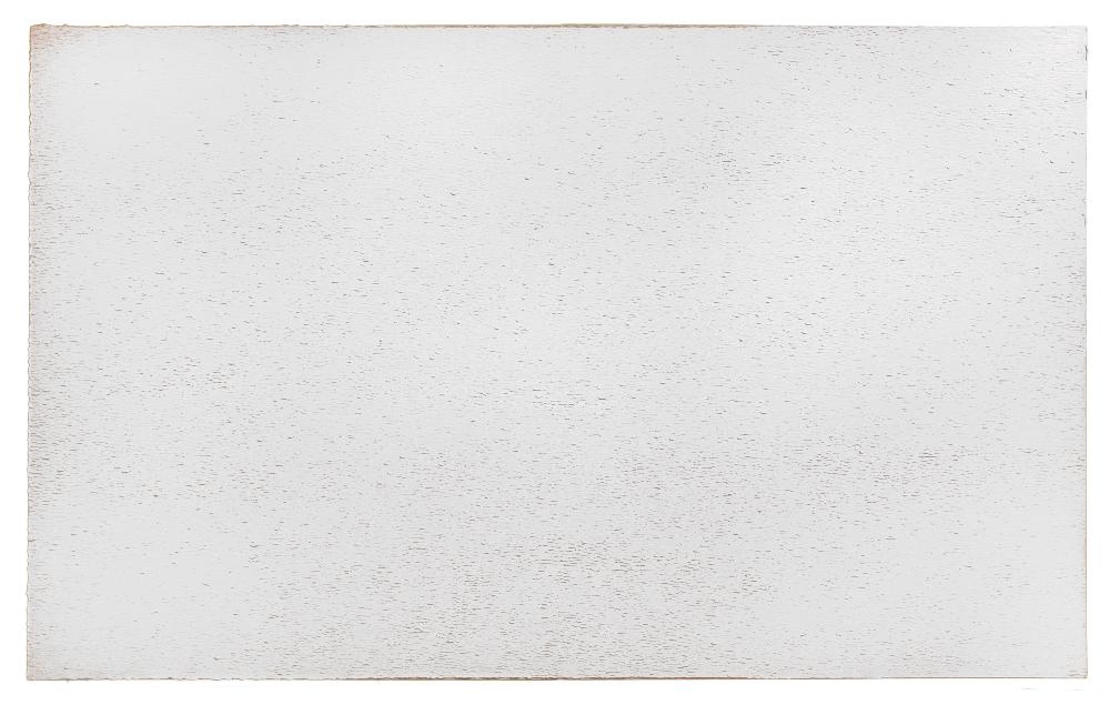 David Budd,  Silver-Gray , 1976, oil on canvas, 78 x 126 inches
