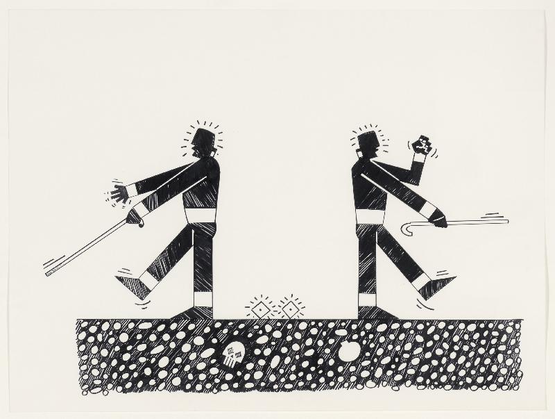 Diego Romero, Blind Fight, 2004