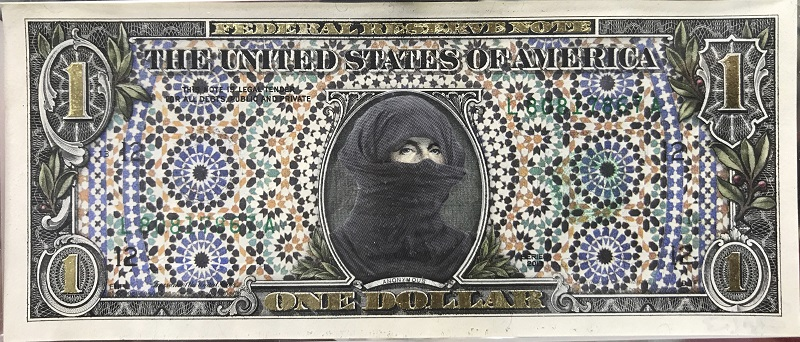 Art Notes Series, Revolutionary in Niqab, 2016