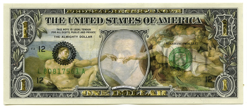 Art Notes Series, Maestro or The Almighty Dollar, 2016