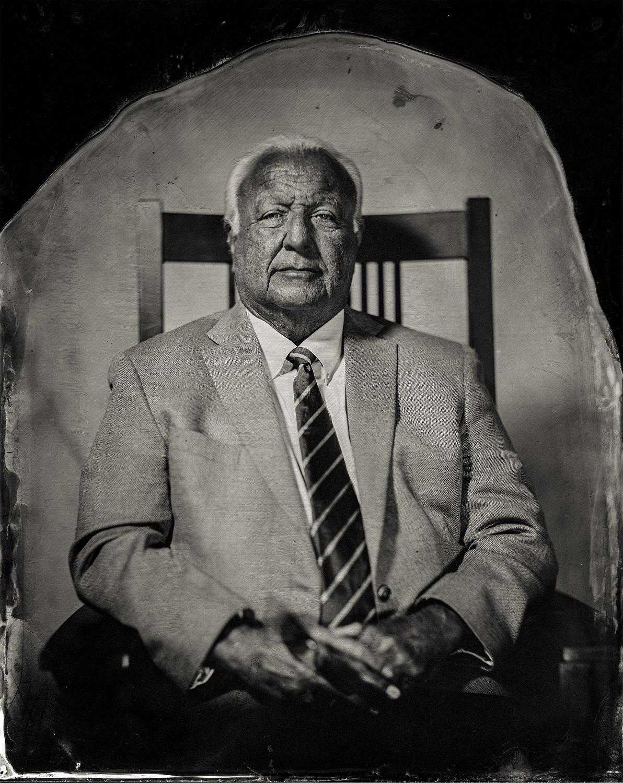 Chairman John A. Barrett, citizen of Citizen Potawatomi Nation, 2016