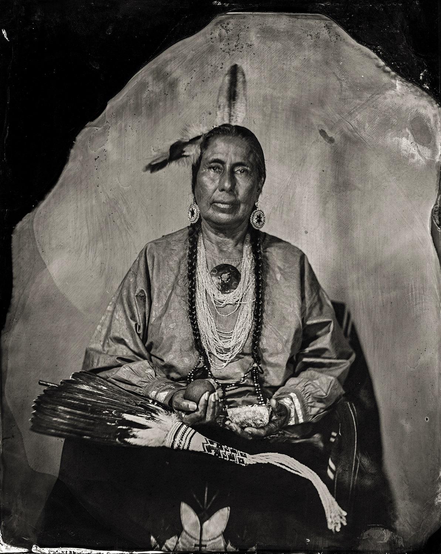 Casey Camp Horinek, citizen of Ponca Tribe of Oklahoma, 2016