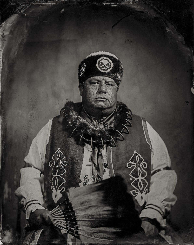 Chairman John Shotton, citizen of Otoe-Missouria Tribe and affiliated Iowa, 2016