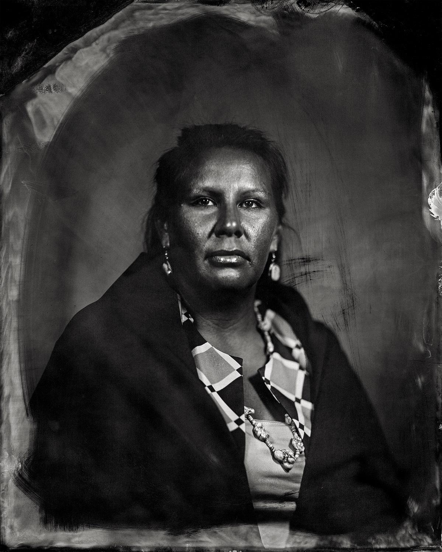 Courtney Burgess, citizen of Otoe-Missouria Tribe and affiliated Iowa/Chickasaw/Sac & Fox, 2016