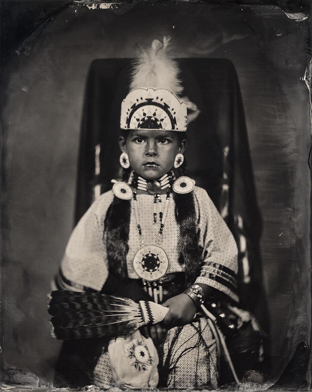 Brielle Turney, citizen of Comanche Nation, 2016