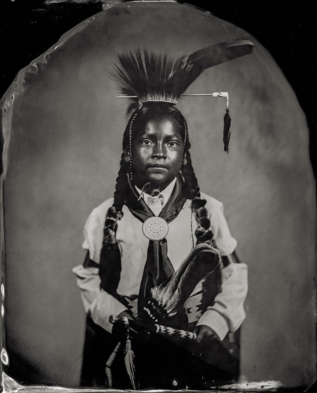 Modesto Schonchin, citizen of Comanche Nation and affiliated Klamath/Modoc/Paiute, 2016