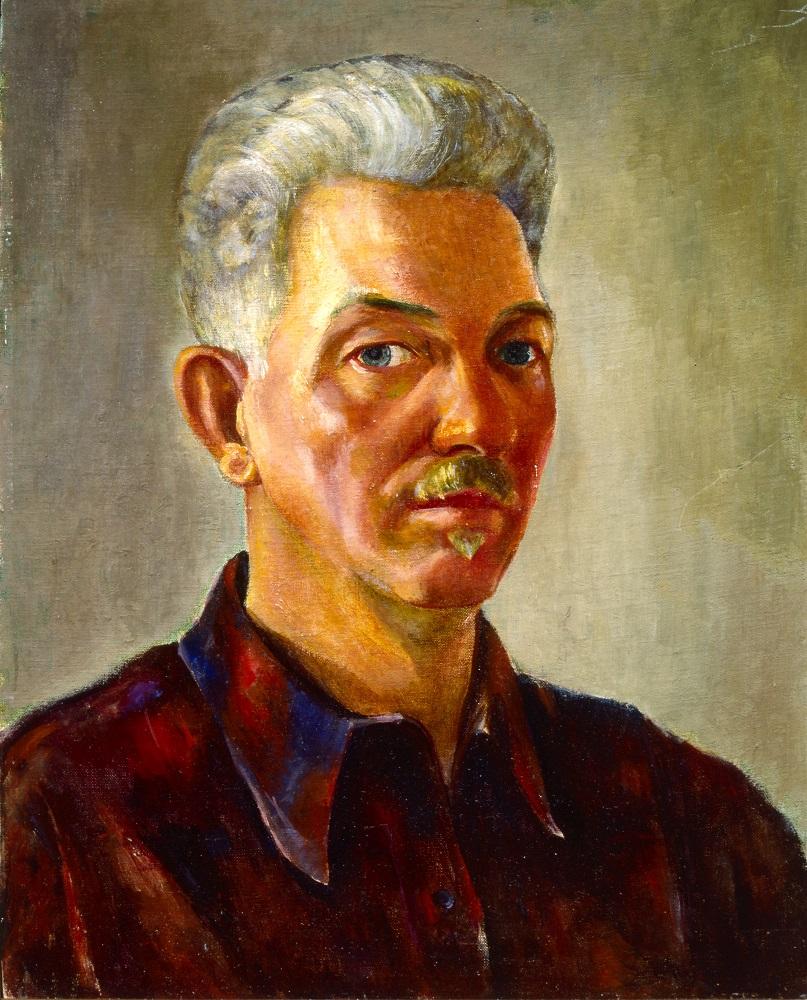 Jozef Bakos, Self Portrait