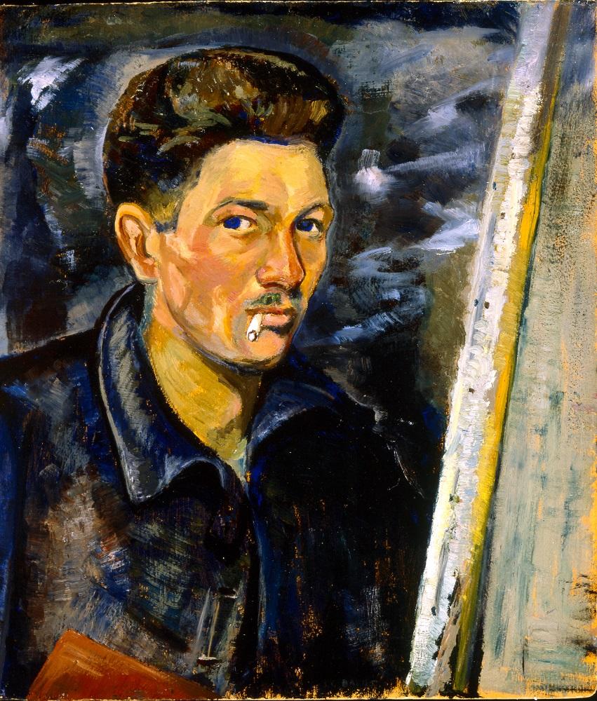 Jozef Bakos, Self Portrait, ca 1925