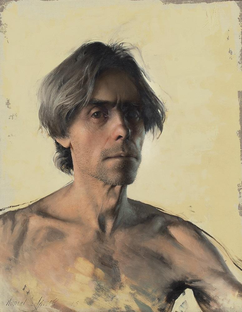 Daniel Sprick, Self Portrait, 2013