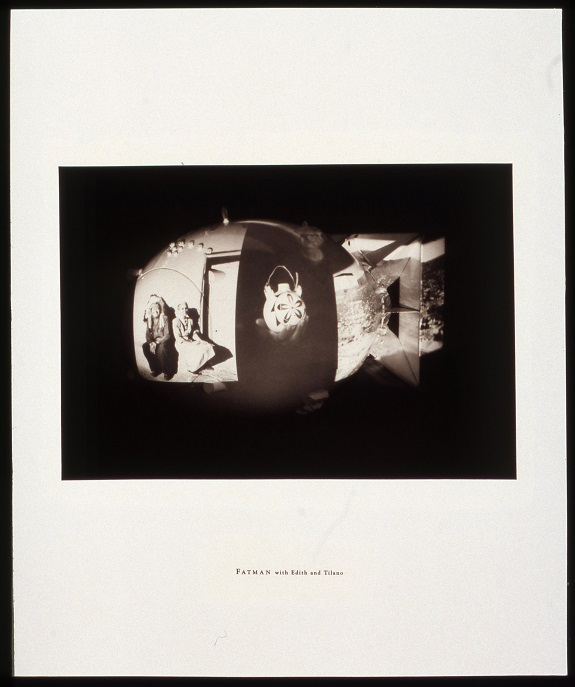 Fatman with Edith and Tilano,  from Critical Mass Portfolio, 2/20, 1995