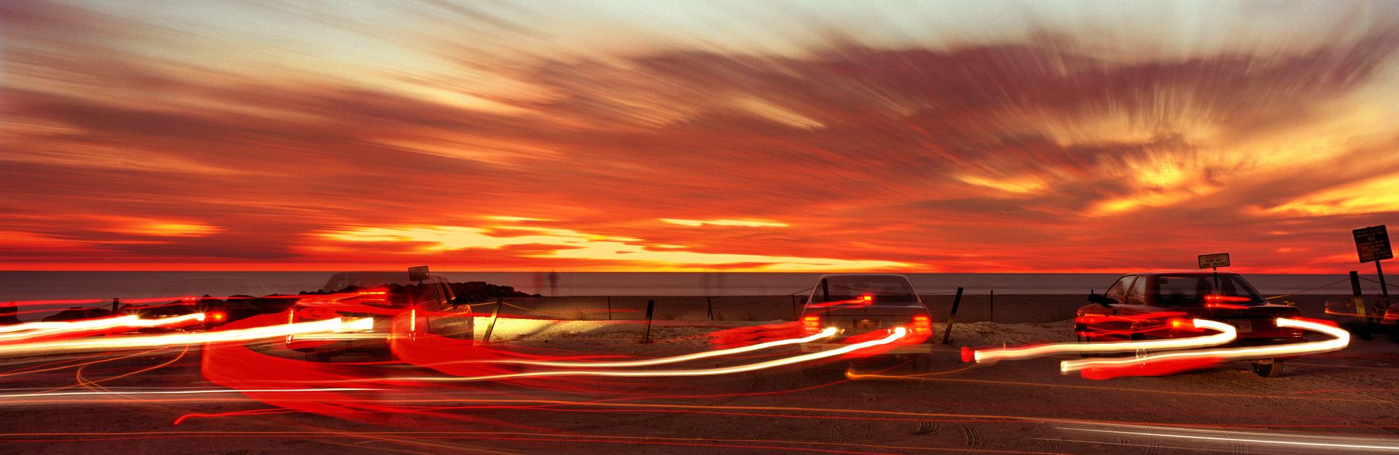 Sunset Traffic, Blind Pass, Sanibel-Captiva, Florida, 1994