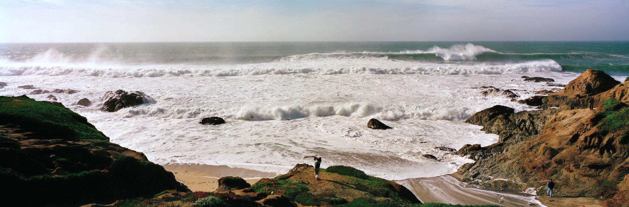 Batting, Bodega Head, California, 1998