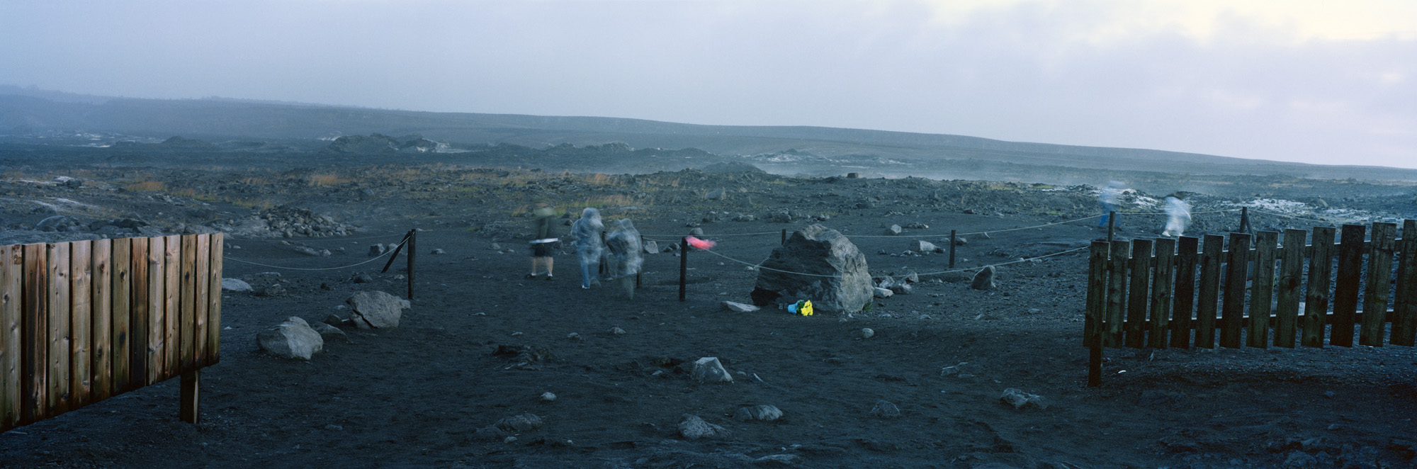 Kilauea Obake, Hale Ma'uma'u Crater, Hawaii Volcanoes National Park, Hawaii, 2007