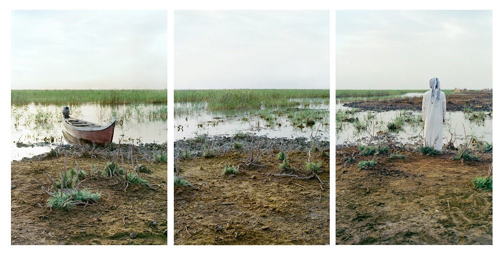 Ehmad and His Boat, Central Marshes, 2011-2012