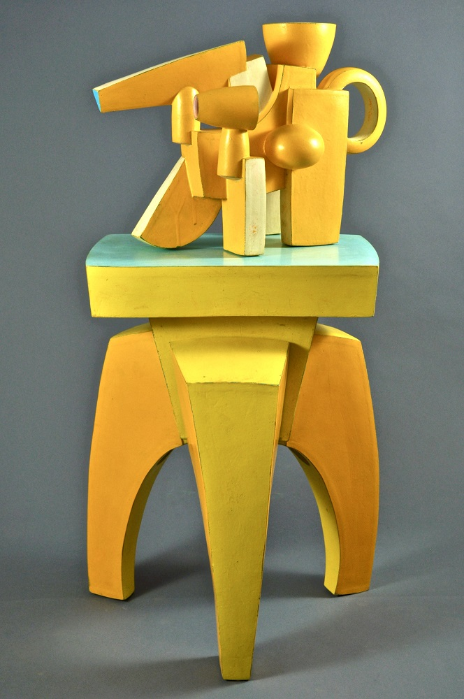 Yellow Chromatic Ewer & Yellow Stand