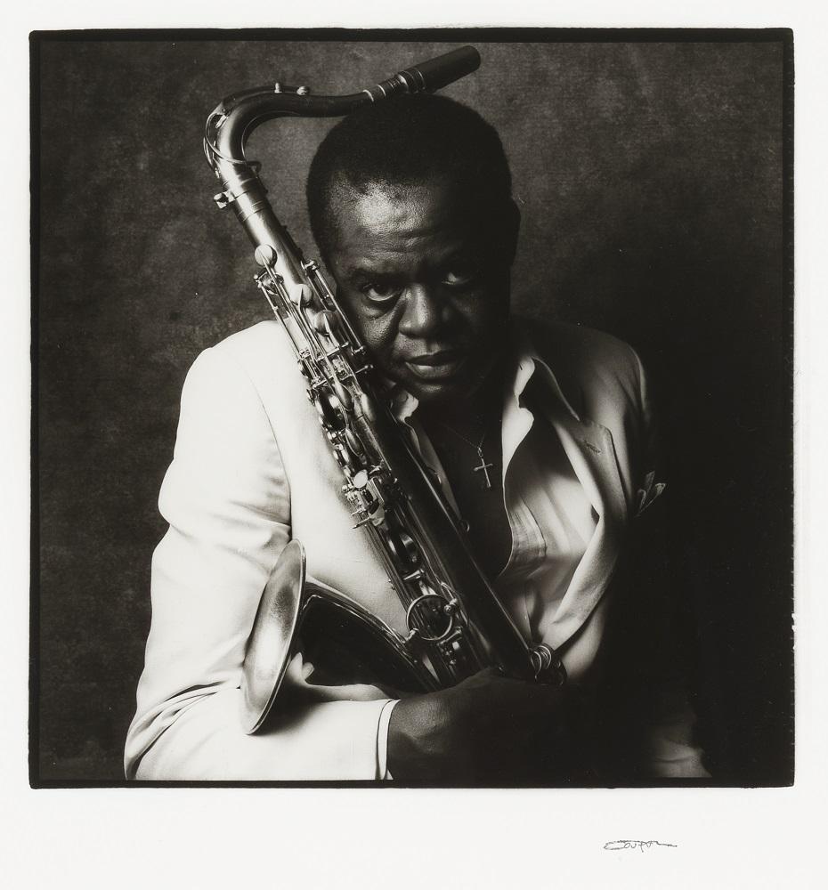 Stanley Turrentine, Musician, New York, New York, 1/5, 1982