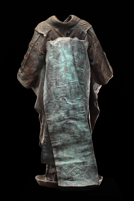 Maiko,  2/3, 2011, bronze, 52 x 31 1/2 x 22 1/4 in.