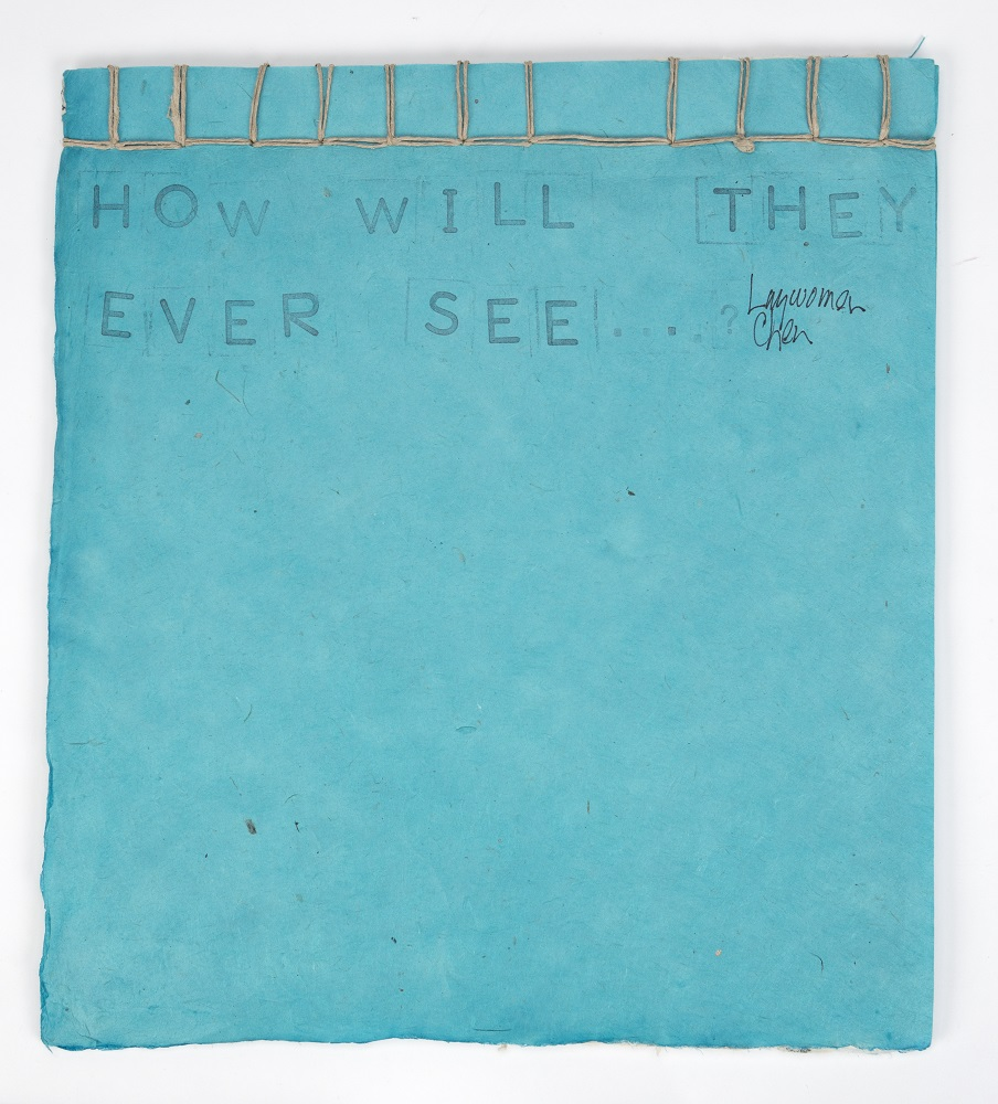 Susan Myo On Linnell, Wu Wei Notebook: How Will They Ever See