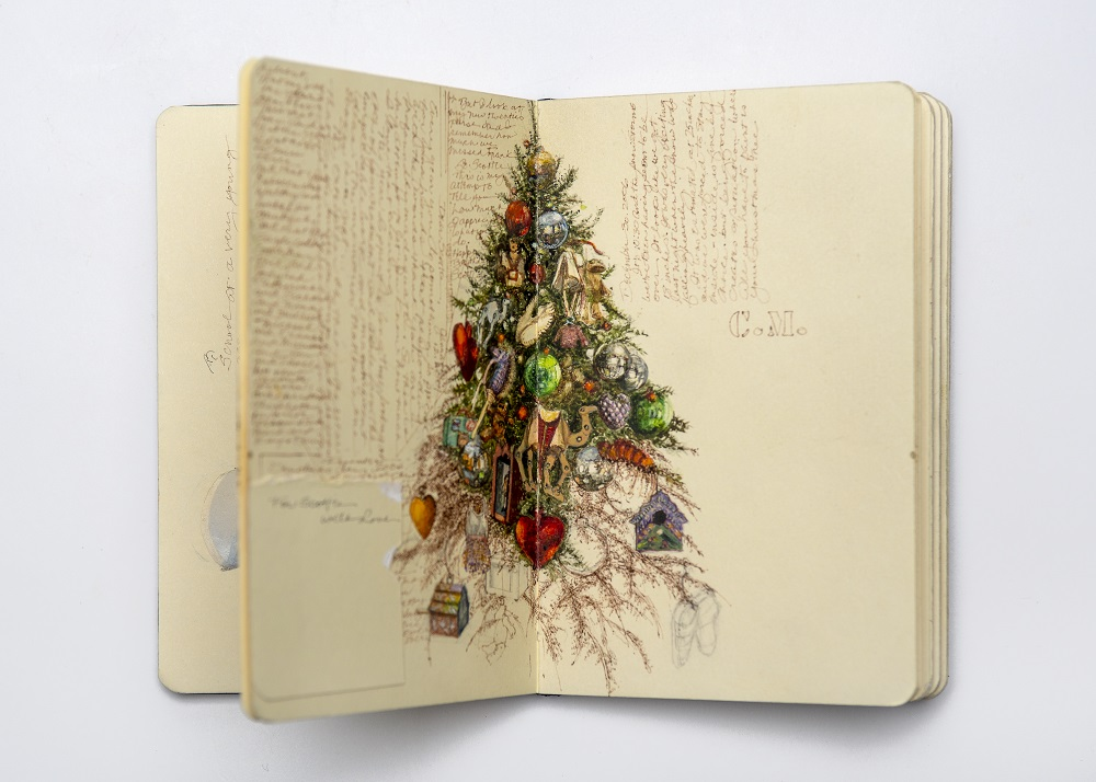 Carol Mothner, Artist's Journal: Christmas Tree