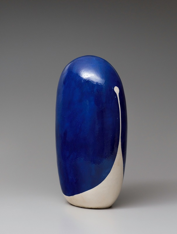 Untitled, 2015, glazed ceramics, 25 x 15 x 9