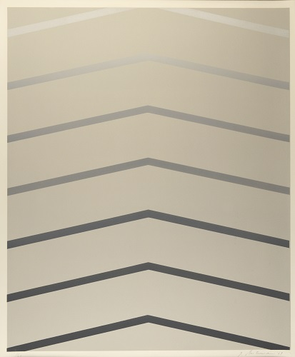 Octet: Plate 3, 1/20, 1969, lithograph, 24 x 20 inches.