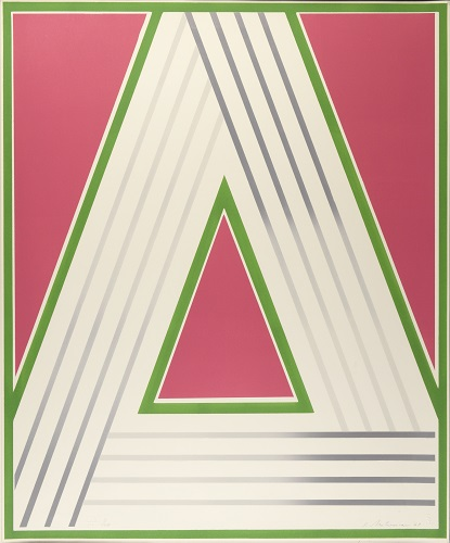 Octet: Plate 2, 1/20, 1969, lithograph, 24 x 20 inches.
