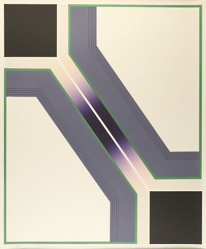 Octet: Plate 4, 1/20, 1969, lithograph, 24 x 20 inches.