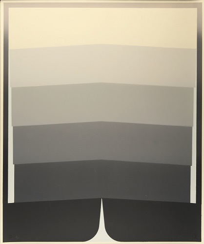 Octet: Plate 5, 1/20, 1969, lithograph, 24 x 20 inches.