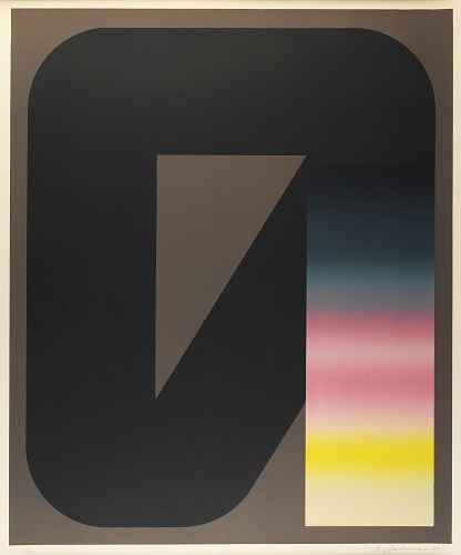 Octet: Plate 6, 1/20, 1969, lithograph, 24 x 20 inches.