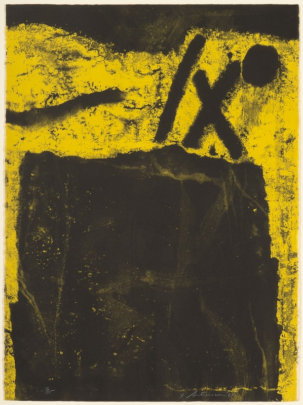 Token: Plate 3, 9/15, 1961, Lithograph, 30 x 22 1/4 inches.