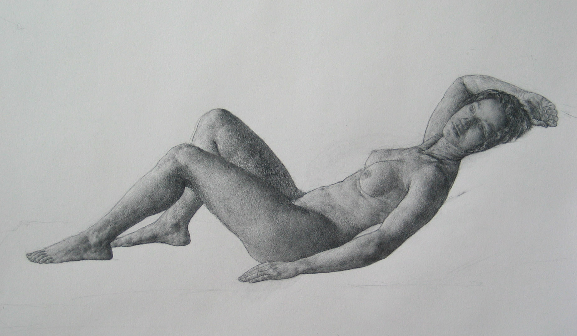 Monique, study for Psyche