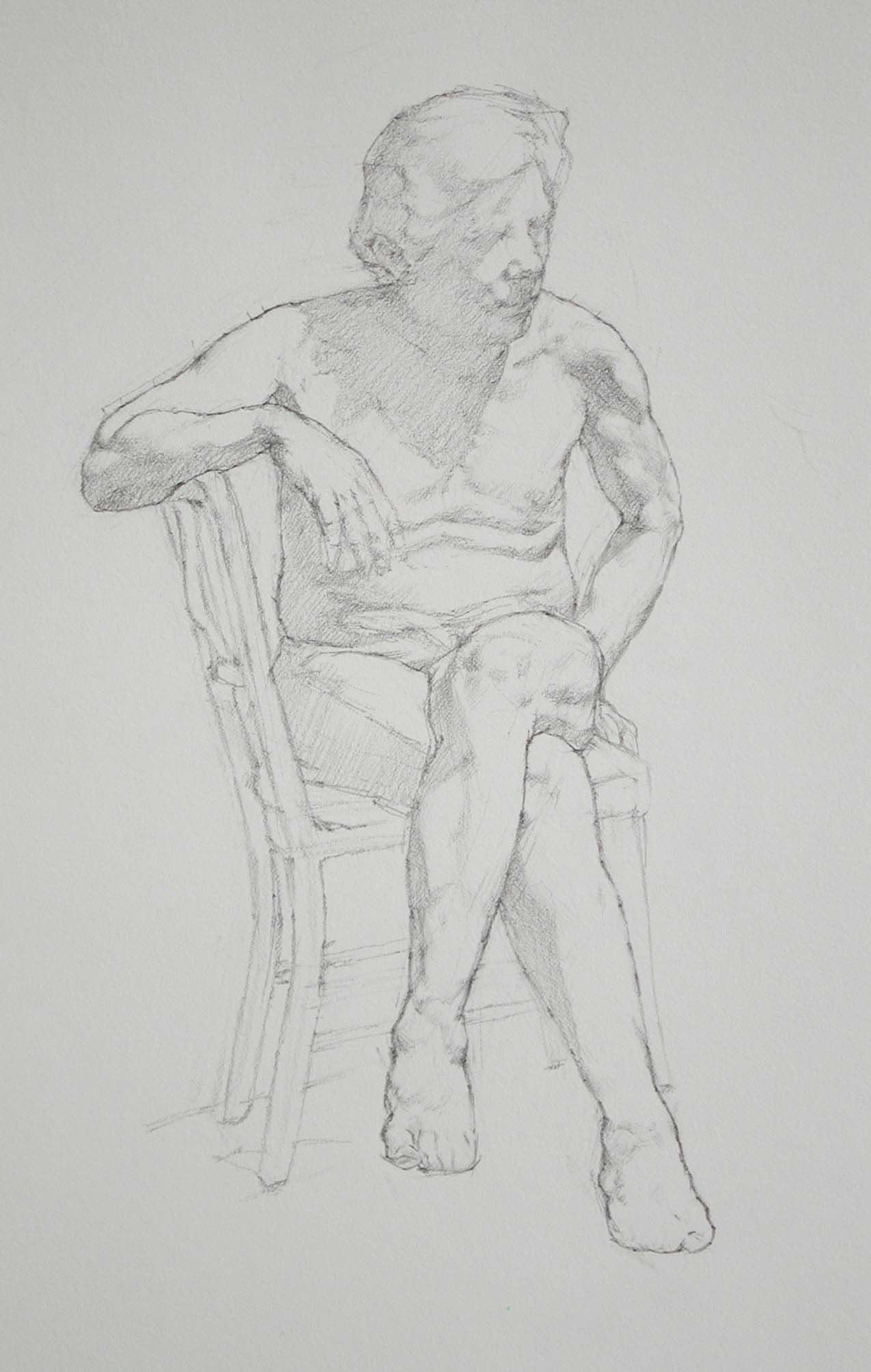 Harry Seated