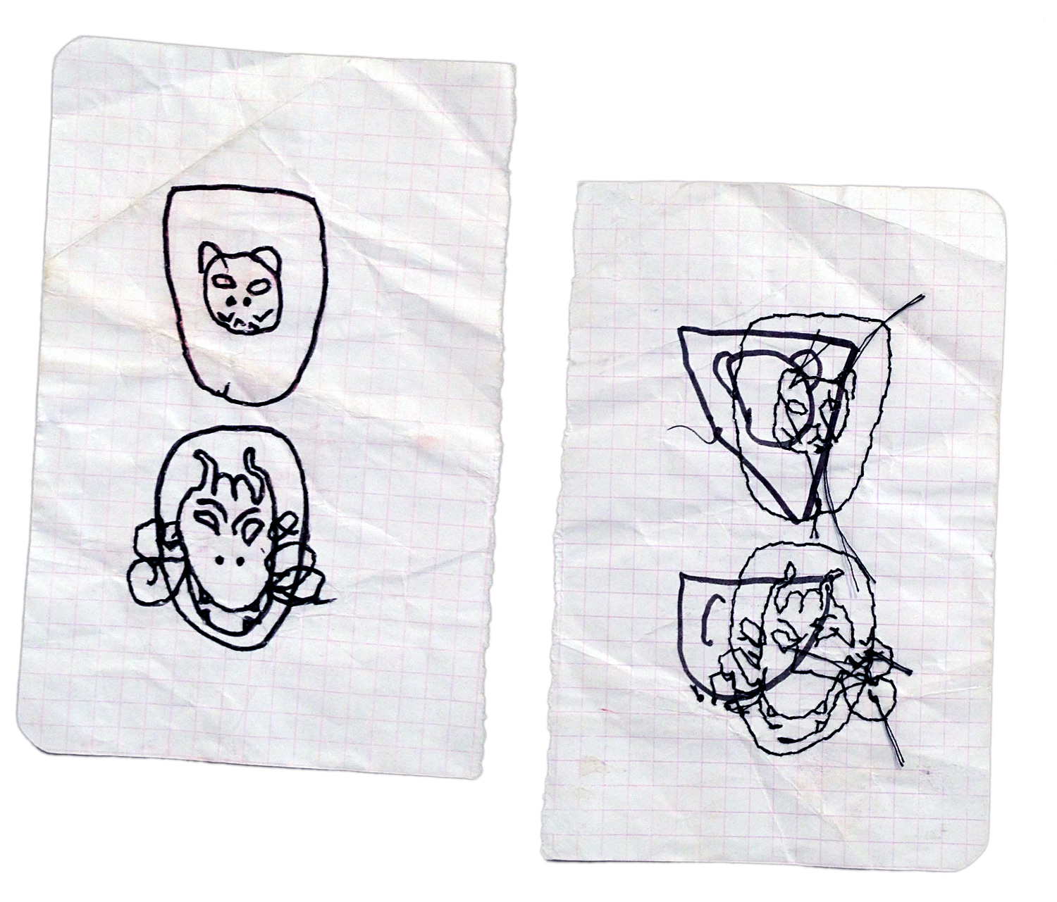 UNTITLED   (front and back)