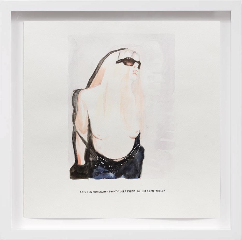 Kristen McMenamy (2005)     2017,  SOLD
