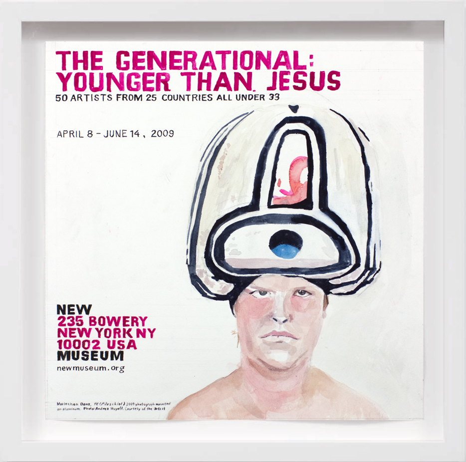 Younger Than Jesus (2009)   2017,  SOLD