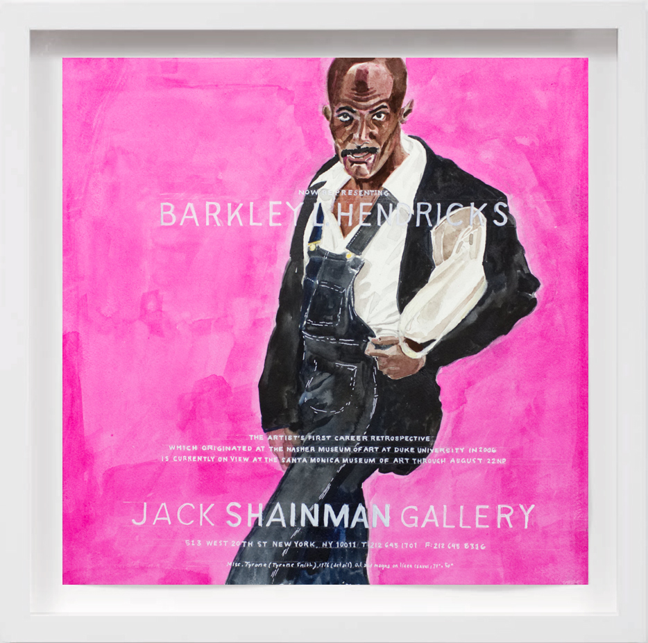 Barkley Hendricks (2009)   2017,  SOLD