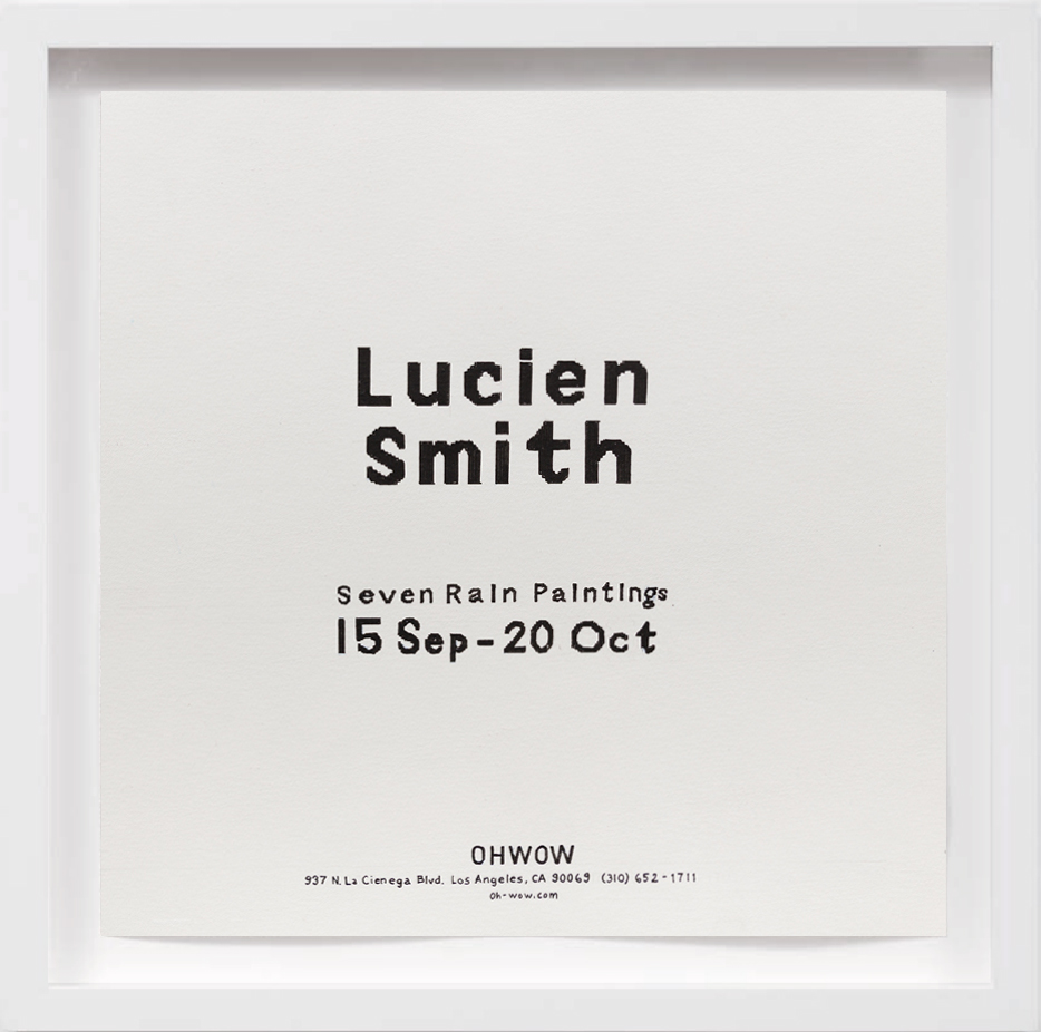 Lucien Smith (2012)   2018, Available