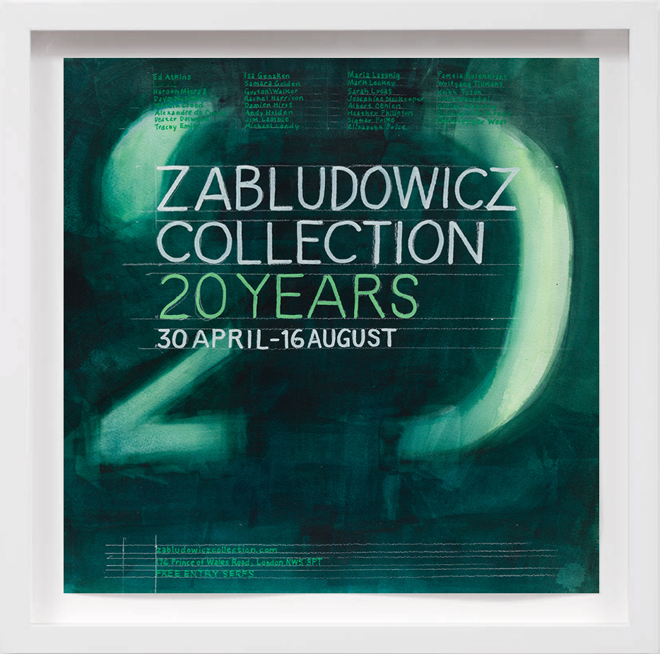 20 Years Zabludowicz Collection (2015)     2017,  SOLD