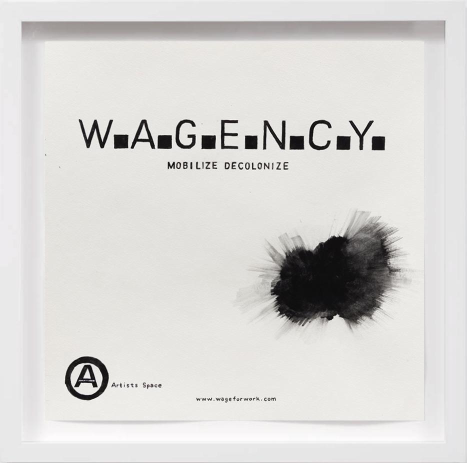 W.A.G.E.N.C.Y (2019)     2017,  SOLD
