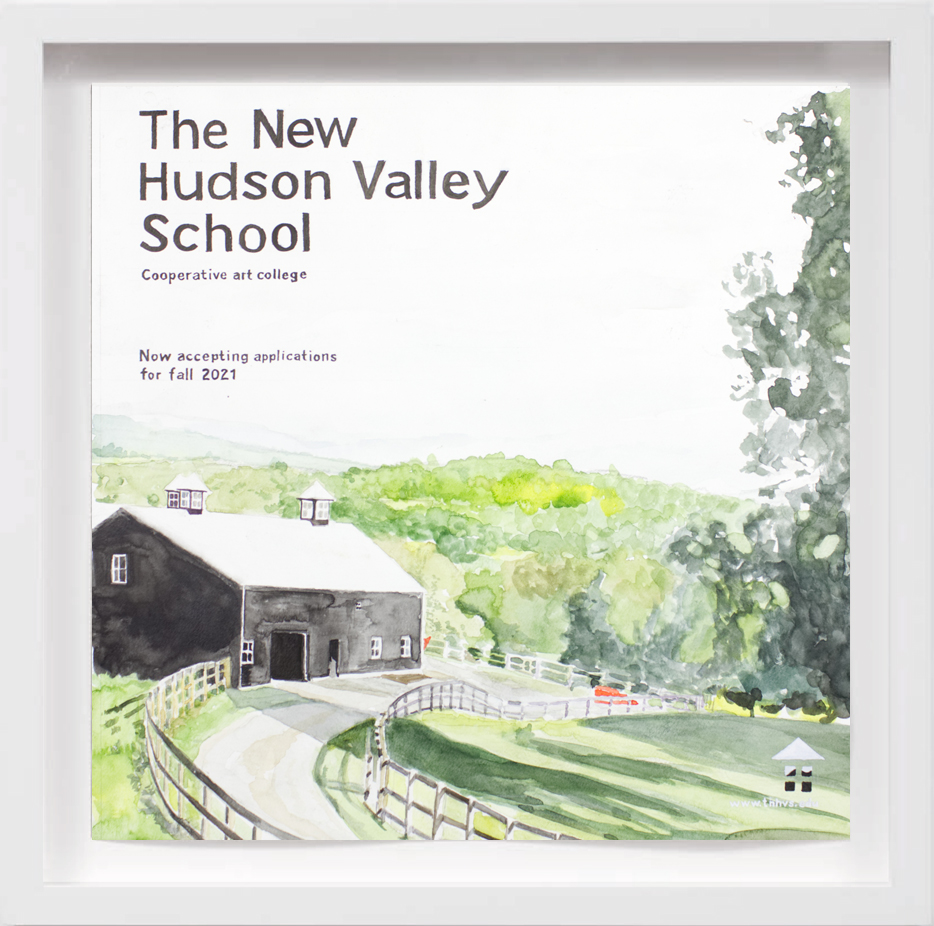 The New Hudson Valley School (2021)   2018,  SOLD