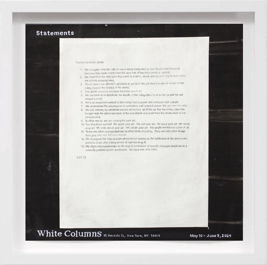 White Columns (2024)   2018,  SOLD