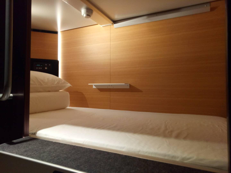 精緻的膠囊旅館有著與五星飯店同層級的睡眠品質,提供給 PitchCamp 講師入住使用 圖片來源:寶渥團隊