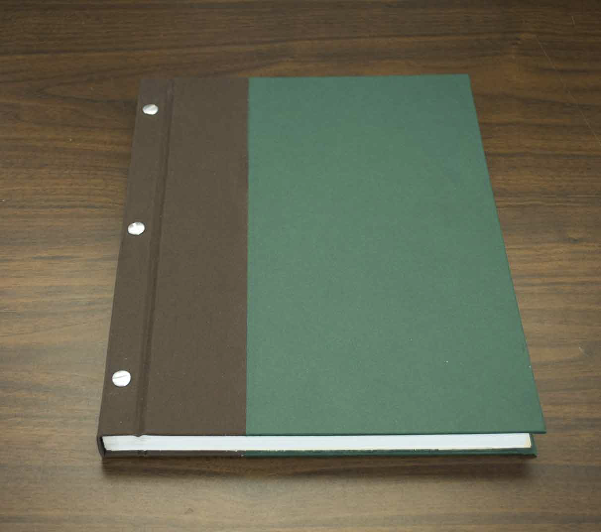Post-bound books - great for journals, photo albums, and scrapbooks.