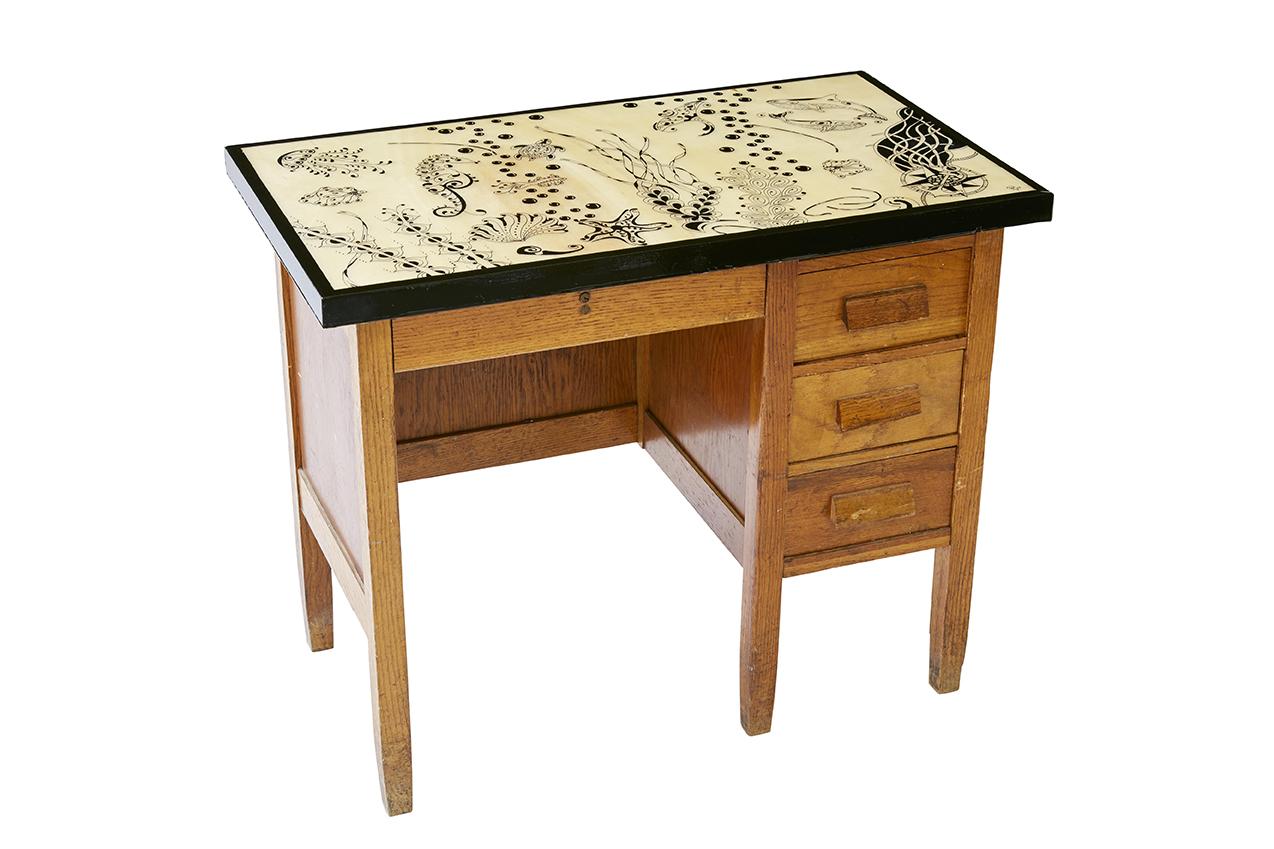 Child's Oak Desk $600